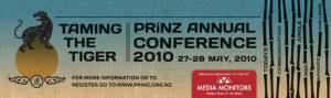 Gerry McCusker will deliver a Plenary and Workshop at PRINZ 2010