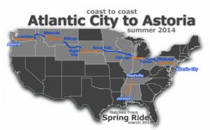 Cycling Across America charity