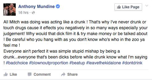 Mundine on Pearce