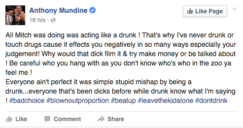 Mundine on Pearce